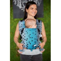 Lenka ergonomical babycarrier - Be Lenka Mini - Triangle - Sapphire