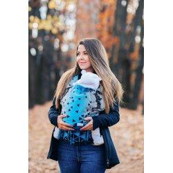 Lenka ergonomical babycarrier - 4ever - Triangel Sapphire