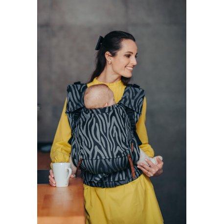 Lenka ergonomical babycarrier - 4ever Neo - Zebra - Grey