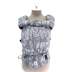 Aloe babycarrier - TWO - Yaro Four Winds Grey White Wool