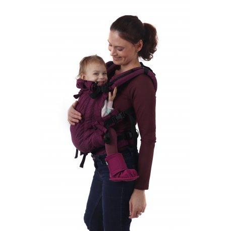 Jozanek newborn adjustable babycarrier Jonas New - raspberry