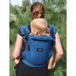 Jozanek newborn adjustable babycarrier Dan - blue