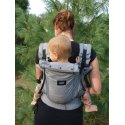 Jozanek newborn adjustable babycarrier Dan - grey