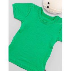 DuoMamas childern T-shirt - short sleeved - green