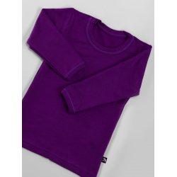 DuoMamas childern T-shirt - long sleeved - purple