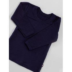 DuoMamas childern T-shirt - long sleeved - navy