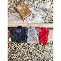 DuoMamas childern T-shirt - long sleeved - merino - antracite