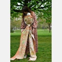 Yaro Floral Trio Brick Green Caramel Seacell