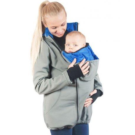 Greyse Softshell Jacket 4in1 - Grey + Blue