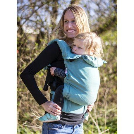 MoniLu ergonomic babycarrier UNI (Adjustable) Simply Green