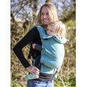 MoniLu ergonomic babycarrier UNI (Adjustable) Simply Green
