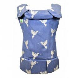 MoniLu ergonomic babycarrier UNI PLUS (Adjustable) Colibri Sky
