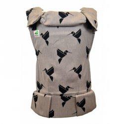 MoniLu ergonomic babycarrier UNI PLUS (Adjustable) Colibri Sand