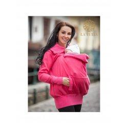 La Tulia babywearing sweatshirt - raspberry