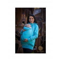 La Tulia babywearing sweatshirt - Turquoise