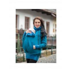 La Tulia babywearing sweatshirt - Petrol