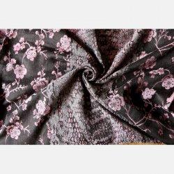 Yaro Ring sling Flowersnake Duo Black Rose Seacell