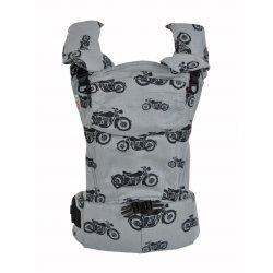 MoniLu ergonomic babycarrier UNI START Motorbikes Day