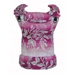 MoniLu ergonomic babycarrier UNI (Adjustable) Roses Rouge