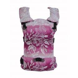 MoniLu ergonomic babycarrier UNI START Roses Rouge