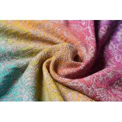 Yaro Ring sling Ava Trinity Sienna Rainbow Linen