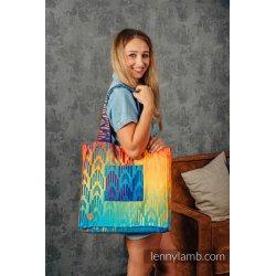 LennyLamb Shoulder Bag - Rainbow Chevron