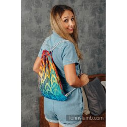 LennyLamb Bag SackPack Rainbow Chevron
