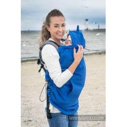 LennyLamb babywearing cover Softshell - blue