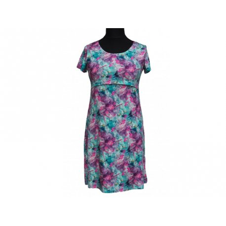 Angel Wings Dress short sleeved - Rowan berries