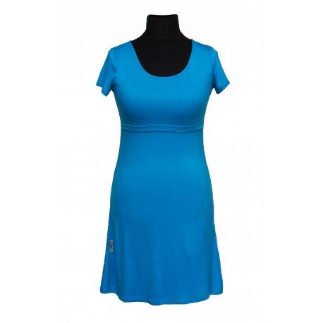 Angel Wings Dress short sleeved - light blue