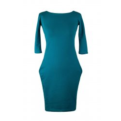Angel Wings Dress with pockets - petrol