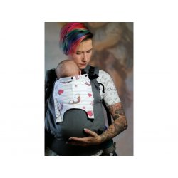 NEKO Switch babycarrier with buckles - adjustable - Bold (2 hoods included)