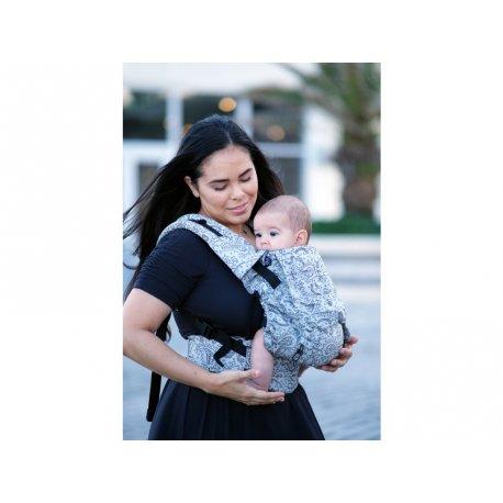 NEKO Swich babycarrier with buckles - adjustable - Efes Paisley Hazel Light