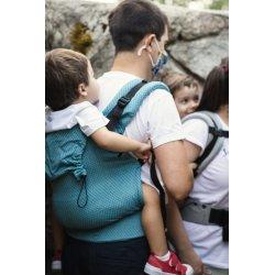 NEKO Swich babycarrier with buckles - adjustable - Blue Diamond