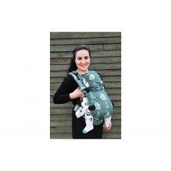 NEKO Swich babycarrier with buckles - adjustable - Derya Clover