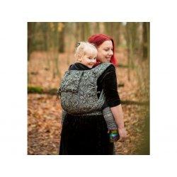 NEKO Half Buckle babycarrier - adjustable - Efes Paisley Hazel Dark