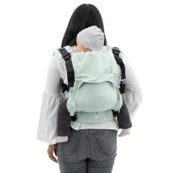Fidella Fusion babycarrier with buckles - Mosaic - blue lagoon