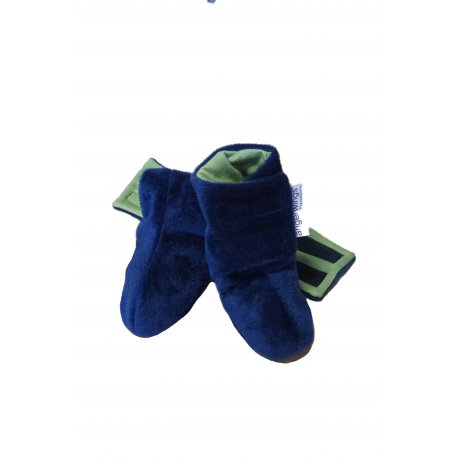 Angel Wings Fluffy Shoes - blue-green