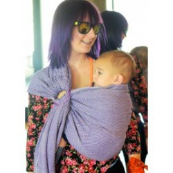 Indajani Ring Sling Huini Purple