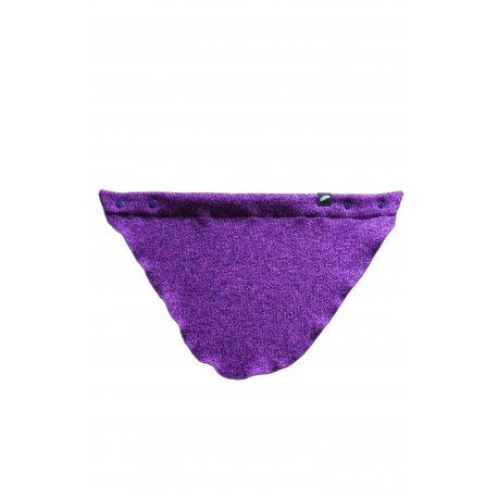 Angel Wings Sweater Scarf violet