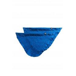 Angel Wings Sweater Scarf blue