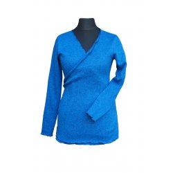 Angel Wings Wrap Sweatshirt blue