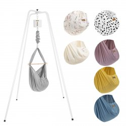 NONOMO Swinging Hammock-Set Baby Classic with Stand - basic and drive MOVE 1.0