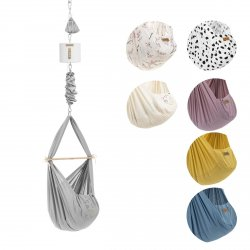 NONOMO® SWINGING HAMMOCK-SET BABY CLASSIC WITH CEILING FIXTURE and DRIVE MOVE 1.0