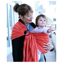 Indajani Ring Sling Mitla Orange