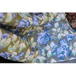 Yaro Ring Sling La Peonia Trinity Violet Green Seacell Wool