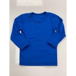 DuoMamas childern T-shirt - long sleeved - royal blue