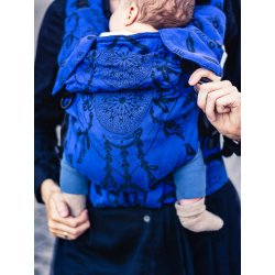 MoniLu ergonomic babycarrier UNI START Magic Dreams