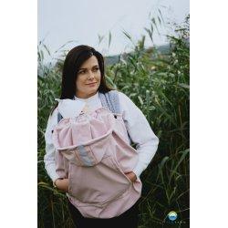 Little Frog softsheel babywearing cover - Pink