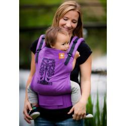 TULA ergonomické nosítko Humming Birds (Purple)